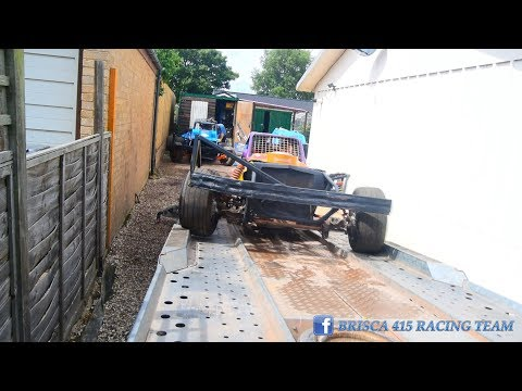 KINGS LYNN BRISCA F1  'BEHIND THE SCENES' AND FULL ON BOARD RACE VIDEO 22.7.17