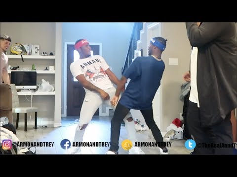 AR'MON AND TREY SPLIT UP IN FRONT OF COMPANY PRANK!!!! (EXTREMELY FUNNY)