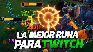 LA MEJOR RUNA PARA TWITCH! BURST EN EARLY GAME • Only Twitch EP 6