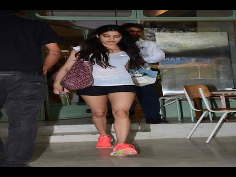 In Graphics: Mumbai: See the latest pictures of Jahanvi Kapoor
