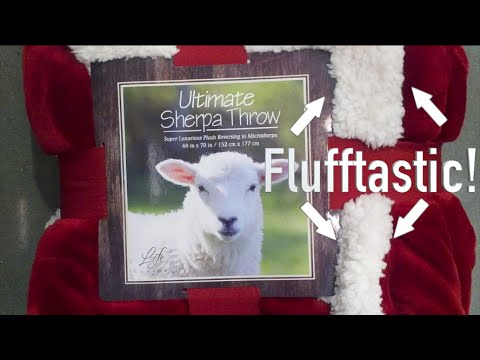 How To Restore A Costco Sherpa Throw YouTube Magnificent Costco Blankets And Throws