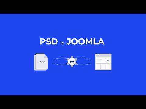 PSD To Joomla