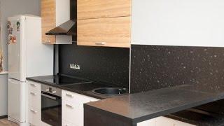 Кухня Белая древесина. Последовательность монтажа и обзор результата.