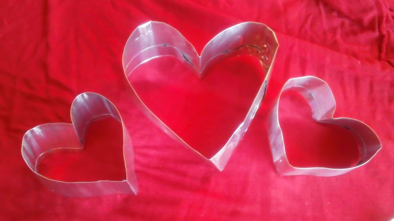 How to Make a Heart Shaped Cutter from a Plastic Straw