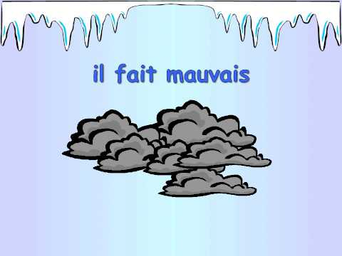French weather phrases
