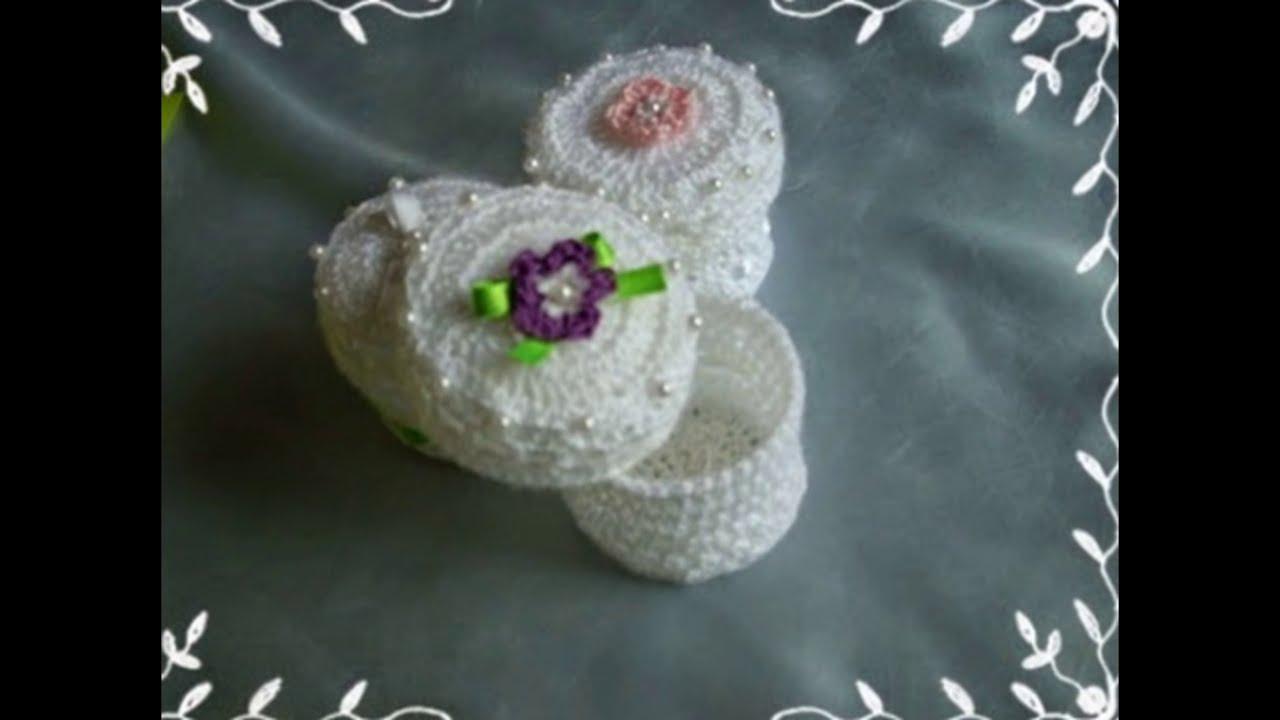 Cajitas en crochet endurecido youtube - Detalles de ganchillo para regalar ...