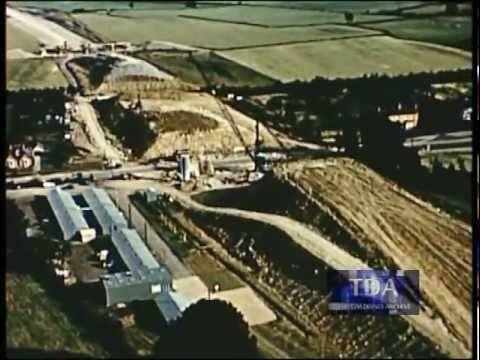 Major Road Ahead (December 1958) John Laing Film Unit Building M1 Motorway