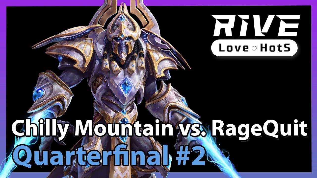Chilly Mountain vs. RageQuit - Heroes of the Storm 2021