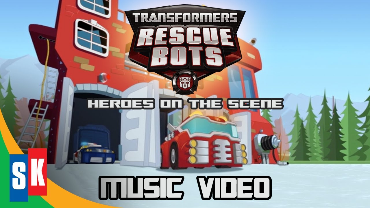 Music Video: Living In A Land Of Tech   Transformers Rescue Bots: Heroes On  The Scene   YouTube