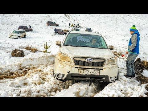 МЫ ОФИГЕЛИ ПРАДО НЕ МОЖЕТ ЗАЕХАТЬ НИКУДА. Toyota Land Cruiser Prado на снегу