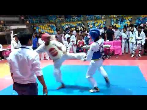 Taekwondo fight in india