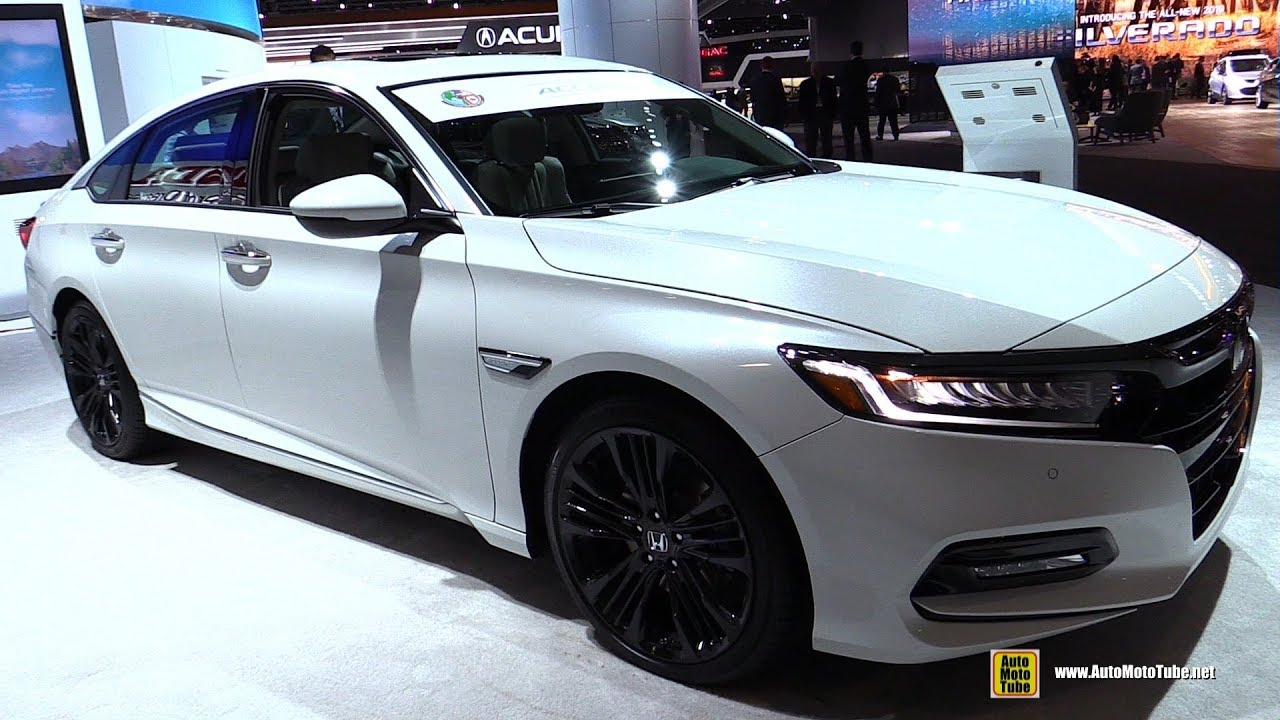 2018 Honda Accord 2 0t Touring Exterior And Interior Walkaround Detroit Auto Show