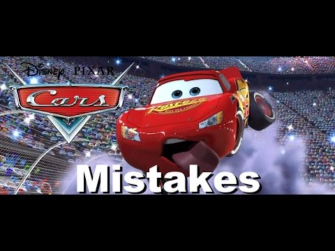 DISNEY'S CARS MOVIE MISTAKES You Didn't See | Cars Goofs