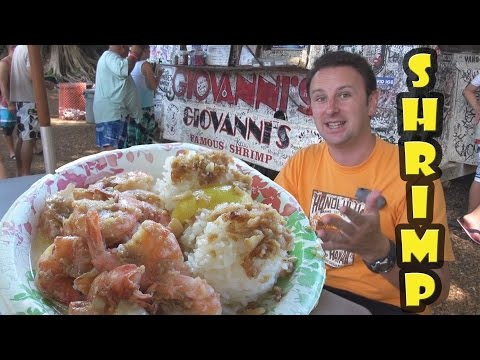 Giovanni's Shrimp Truck - The Best Shrimp in Hawaii