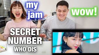 REACTION SECRET NUMBER(시크릿넘버) _ Who Dis? | FIRST INDONESIAN FEMALE IN A KPOP GROUP!