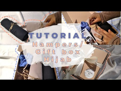 Hampers Hijab Aesthetic Gift Box Hijab Simpel | Tutorial | Packing Order | Nurul Jannah