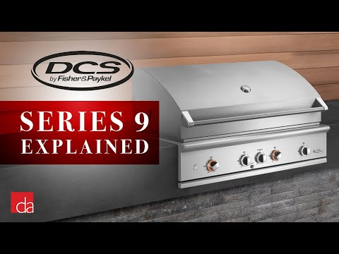DCS Series 9 Grill | Gas, Charcoal And Smoker All In One