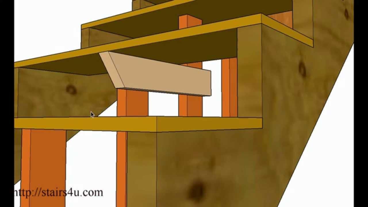 how to strengthen weak basement steps stair repairs youtube rh youtube com Pulling Apart Stringers Stairs Basement Basement Stairs Framing