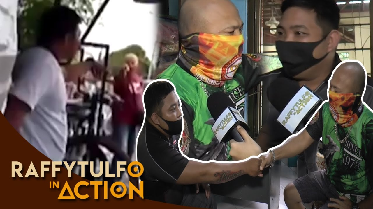 KAGAWAD AT MAY-ARI NG TALYER SA VIRAL VIDEO, FRIENDS NA!