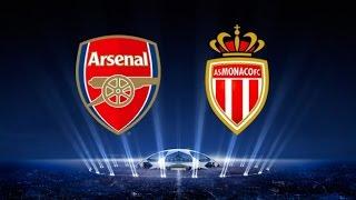Arsenal - Monaco [FIFA 15]   C1 League 2014-2015 (1/8ème Finale - Aller)   CPU Vs. CPU