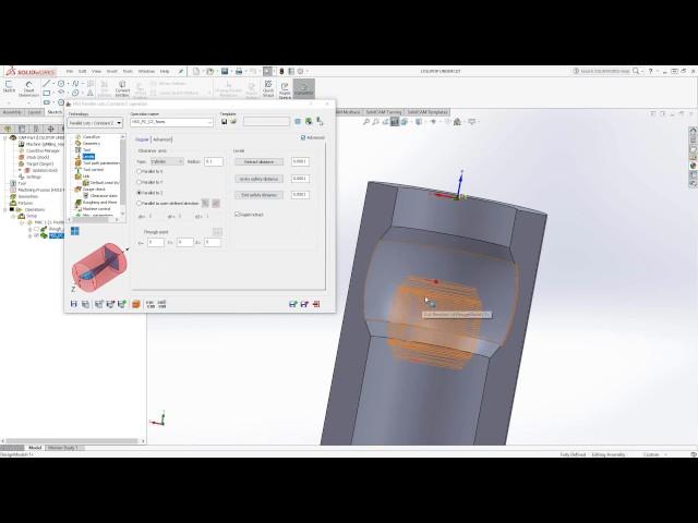 HSS - Undercut Milling Lollipop Tool