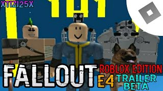 Fallout Roblox Edition Trailer