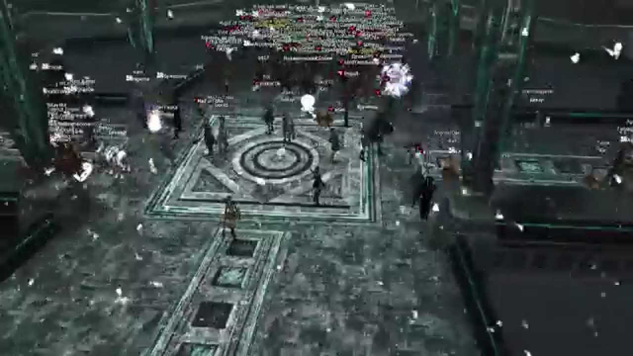 Lineage 2 Classic (RU official , Gran Kain) , Mass PVP Cruma Tower AllMighty against ROA + Red Sky , YouTube