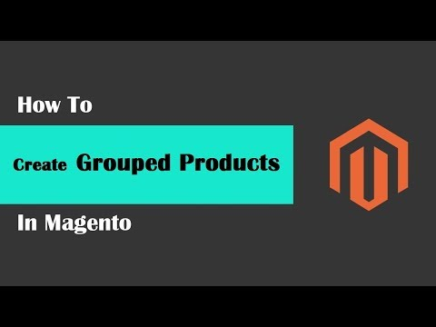 Magento Tech geeks Tutorials #41   How To Create Grouped Products in Magento thumbnail
