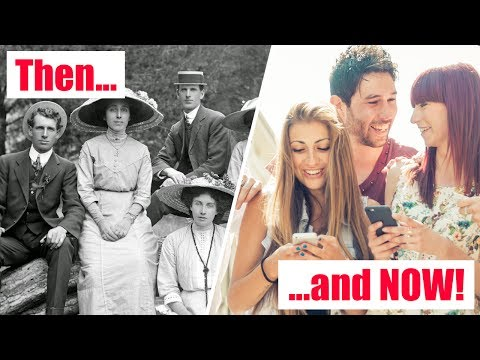 LIFE 100 YEARS AGO vs LIFE NOW