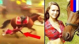 Российская наездница погибла, сорвавшись с лошади и застряв в стремени
