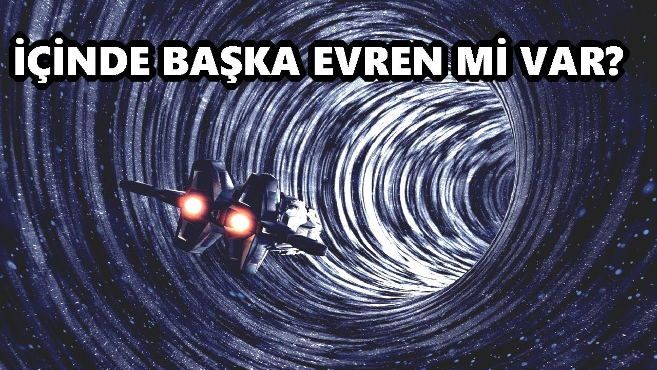 Kara Delikler Yeni Evrenler Yaratabilir Mi?