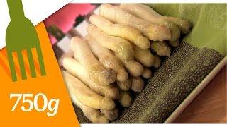 Comment cuire les asperges blanches