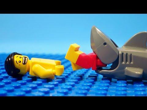 Monster Submarine Sized Shark Caught on Tape 2018 - Lego