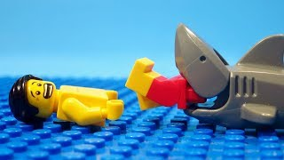 LEGO Shark Attack (Stop Motion)