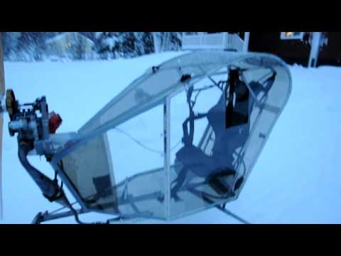 Paramotor trike worlds first front engine?
