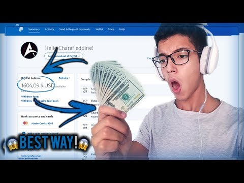 HOW TO GET FREE MONEY ON PAYPAL 2018 (100% LEGIT) - WORK AT