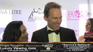 At the Luxury Viewing Gala Screening The Oscars with Producer/Director  Hugo Teugels's