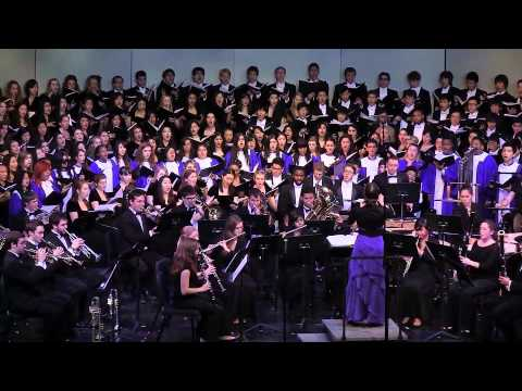 """""""Joy to the World,"""" UCLA Choirs and Venice HS Allegros Choir; Rebecca Lord, Conductor"""