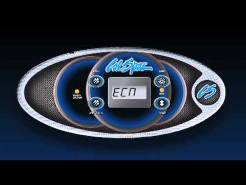 2002 Cal Spa Wiring Diagram Single Phase Motor Start Capacitor The Control Panel Of Your Spas Youtube
