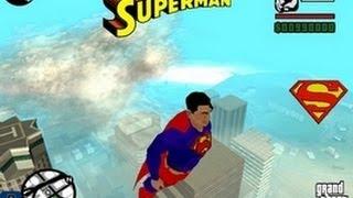 Gta San Andreas Superman Mod Gameplay