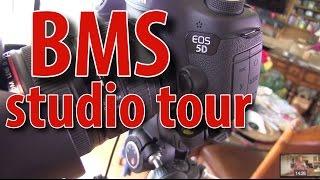 BigMeatSunday Studio Tour   Cameras and Lighting