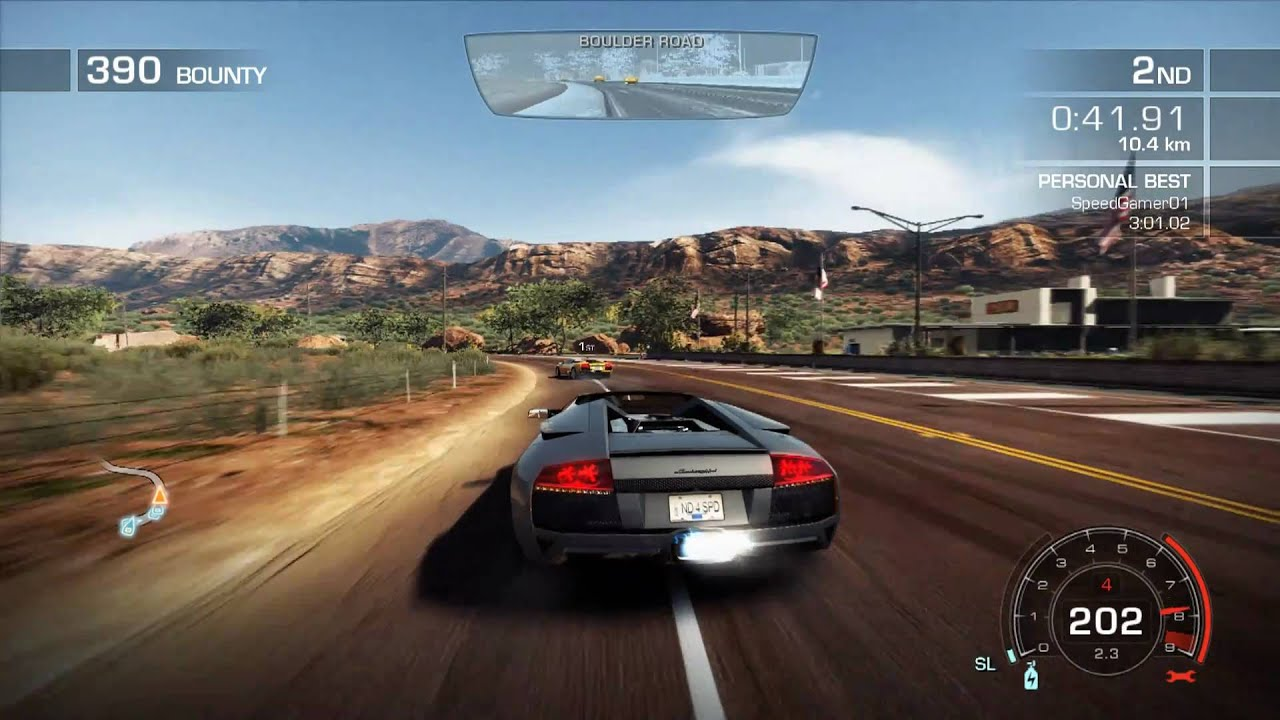 nfs hot pursuit jet set lamborghini murcielago fullhd gameplay pc ps3 xbox. Black Bedroom Furniture Sets. Home Design Ideas