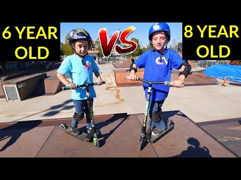 6 YEAR OLD Vs 8 YEAR OLD! *YOU WON'T BELIEVE WHO WON...*