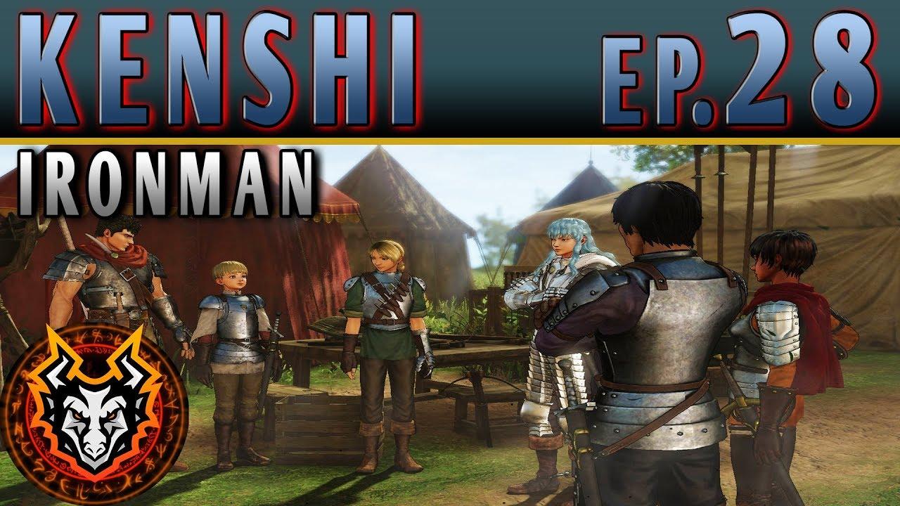 Kenshi Ironman PC Sandbox RPG - EP28 - THE INNER CIRCLE