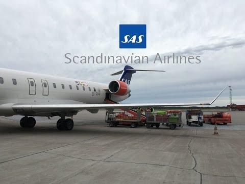 TRIP REPORT   SAS Domestic Economy   CRJ-900   Stockholm ARN -Umeå