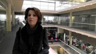 Rehab Parliamentary Pancake Race 2012 - pre-event interview with Natasha Kaplinsky