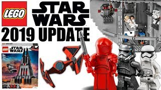 LEGO Star Wars 2019 RUMORS UPDATE! Battle Pack's, Microfighters, Polybags, UCS Sets, and More!