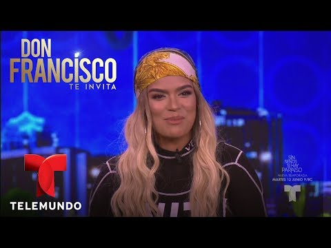 Karol G entrevista exclusiva en Don Francisco Te Invita | Don Francisco Te Invita | Entretenimiento