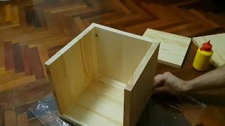 деревянная копилка своими руками