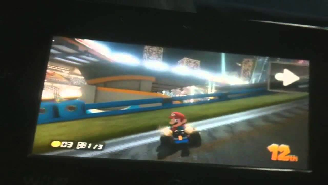 mario kart 8 wii u gamepad features youtube. Black Bedroom Furniture Sets. Home Design Ideas